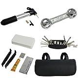 Kurtzy TM 14 teiliges Fahrrad Reparatur Set Wartung Set Multifunktions Werkzeug