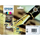 Epson Original C13T16264010 Druckerpatronen, Mehrfachpackung