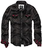 Brandit Checkshirt Duncan Brown-Black M