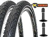 2 x Fahrradreifen Kenda Pannensicher 28 Zoll 28x1.75 47-622 700x45C K-Shield inklusive 2 x Schlauch...
