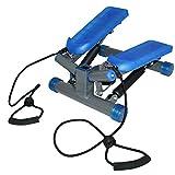 Stepper Fitness Heimtrainer Drehstepper Sidestepper Computer LCD S3032 BLUE HMS