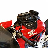 HMMJ Motorrad Reise Gepäck, Wasserdichter Oxford Tankrucksack Magnet Kleiner Schwarz Commuter Trunk...
