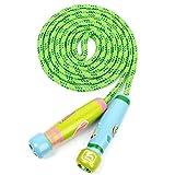 UEETEK Kinder Springen Seil,springen Seil mit Cartoon Holzgriff für Kinder Kinder, ideal für...
