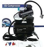 Eurosell - PROFI MINI AUTO / ROLLER KFZ Druckluft Kompressor 12V für Zigarettenanzünder Reifen...