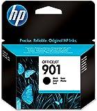 HP 901 Schwarz Original Druckerpatrone für HP Officejet