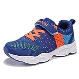 UMmaid Kinder Schuhe Sportschuhe Laufschuhe Jungen Mädchen Kinderschuhe Turnschuhe Sneaker (25 EU, Blau)
