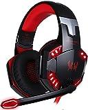 Headset Gaming PC ArkarTech Mikrofon Kopfhörer Gamer Ultra-leichtes Einstellbare Bass-Stereo...