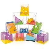 Geschicklichkeitsspiele für Kinder - Reisespiel und zum Kindergeburtstag - 6 Stück