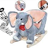 Schaukelelefant Schaukeltier Plüsch Schaukel Wippe Elefant Kinder Baby Spielzeug...