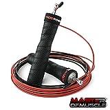 Master of Muscle Profi-Springseil - Speed Jump Rope für Erwachsene - für Boxen, Fitness - mit...