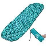 Hikenture Camping Isomatte Kleines Packmaß Ultraleichte Aufblasbare Isomatte - Sleeping Pad für...