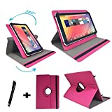 AXXO Tablet für Kinder 10 - 7 Zoll Drehbare Tablet Schutztasche mit Standfunktion + Touch Pen –...