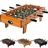 Maxstore Mini Tischfußball, Maße: 70x37x25 cm, 3 Dekorvarianten, Gewicht: 4 kg, 6 Spielstangen,...