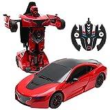 COSTWAY 2,4 GHZ RC Transformator Roboter-Auto Ferngesteuert Transformers Auto & Robot verwandelbar...
