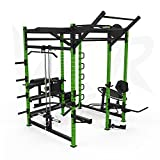 We R SportsPower Rack Gym Crossfit Power Cage Pull Ups Ab Bench Chin Up Triceps