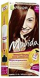 Garnier Tönung Movida Pflege-Creme, Intensiv-Tönung Haarfarbe 23 Kastanie (für leuchtende Farben, auch für graues Haar, ohne Ammoniak), 3er Pack