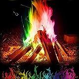 Riotis Mehrfarbenflamme Pulver Flamme, Flammendekoration die im Freienfeuer Partei Versorgungen...