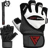 RDX Fitness Handschuhe Trainingshandschuhe Handgelenkschutz Crossfit Sporthandschuhe Gewichtheben...