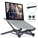 ELUTENG Notebook Ständer Aluminium 4 Einstellbare Höhen Laptop Tablet Halter für...