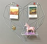 DIY Eisen Gitter der Foto Wand Dekoration Herz-Art Foto an der Wand Hängen in der Familie, Küche,...