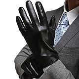 Harrms Herren Winter Handschuhe aus Echtem Leder Touch Screen Gefüttert aus Kaschmir...