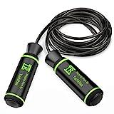 Springseil, Techrise Jump Rope Speed Rope seilspringen mit hautfreundlichen Griff und einstellbares...
