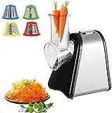 Elektrischer Gemüsehobel | Küchenmaschine | Küchenreibe | Multifunktionsreibe | Gemüse Raspel |...