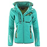 85H2 Geographical Norway Reveuse II Lady SP612F/GN Softshelljacke Lagune M