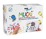 Kreul 29101 - Mucki Fingermalfarben 5er Set Wir malen mit Händen und Fingern