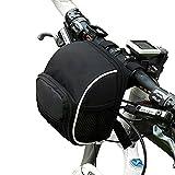 Pawaca Fahrradtasche Rahmentaschen, Fahrrad Lenkertasche, Fahrrad Satteltaschen, Fahrradtasche Lenker, Fahrradkörbe für Faltendes Fahrrad-Gebirgsfahrrad-Straßen-Fahrrad BMX MTB Fährt