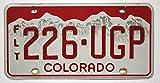 USA Nummernschild COLORADO ~ US Kennzeichen License Plate ~ Blechschild