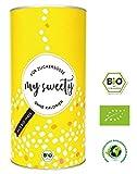 MYSWEETY Bio Zuckerersatz, schmeckt wie Zucker, im Gegensatz zu Birkenzucker, Xylit und...