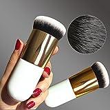Hrph New Chubby Pier Foundation Pinsel Flach Creme Make-up Pinsel professionellen Kosmetik Make-up Pinsel