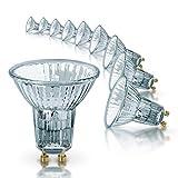 Osram Halogen-Reflektor, Halopar, GU10-Sockel, Dimmbar, 35 Watt, 35° Abstrahlwinkel, Warmweiß, 10er Pack