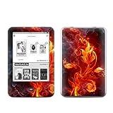 Tolino Shine Skin Ebook Reader Design Schutzfolie Skins Sticker Vinyl Aufkleber - Flower of Fire