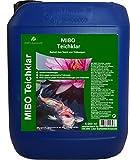 MIBO Teichklar Teichklärer 5.000 ml für 100.000 Liter gegen trübes und grünes Gartenteichwasser