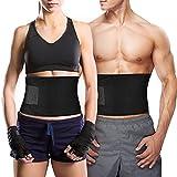 Bauchweggürtel TOPELEK Hot Belt Rückenbandage für Damen und Herren Bauchgürtel für einfaches und effektives Abnehmen Fitnessgürtel Schwitzgürtel für Sport Fitness und Training.