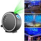 Kingtoys LED Projektionslampe Sternenhimmel Projektor Romantische Nacht Lampe Projektion , Blaues...