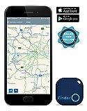 musegear® App Schlüsselfinder -NEUE VERSION 2- 3x lauter- blau- Schlüssel, Keys, Handy, Fernbedienung wieder-finden - Smartphone Bluetooth GPS Kopplung