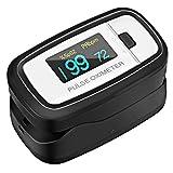 Pulsoximeter, Profi Elektronische Digitale zu Lesung Instant Sauerstoff-Sensor und Herzfrequenz...