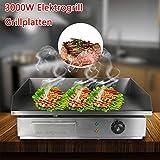Paneltech 3000W Elektrogrill Grillplatten für Gastronomie und zu Hause