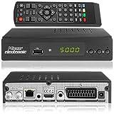 Micro Electronics m380 Plus Full HDTV digitaler Satelliten-Receiver (HDTV, DVB-S2, HDMI, SCART, LAN,...