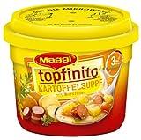 Maggi Kartoffelsuppe mit Würstchen, 6er Pack (6 x 380 g)