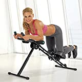 VITALmaxx 02678 Fitmaxx 5 Trainingsgerät | Professioneller Bauchtrainer & Fitnessgerät Für Den...