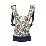 ERGObaby DCAKHWHT Puppentrage Special Edition KEITH HARING - POP, mehrfarbig