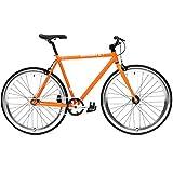 CREATE Original Cr-Mo Stahl Fixie Singlespeed Fahrrad viele Farbvarianten,...