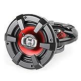 auna SBC-6121 • 3-Wege-Koaxial-Boxen • Auto Lautsprecher • Car HiFi Set • Einbau-Lautsprecher Paar • 1200 W max. Leistung • 2 x 15 cm-Lautsprecher • Neodymium-Tweeter • ASV-Schwingspule • Schalldruck: 90 dB • Frequenzgang: 80 Hz bis 20 kHz • schwarz-rot