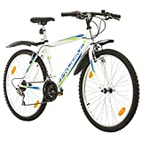 Multibrand, PROBIKE PROBIKE 26, 26 x 19 480mm, 26 Zoll, Mountainbike, 18 Gang, Kotflügel vorne und...