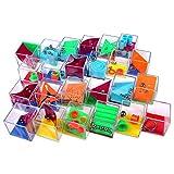 Schramm® 24 Stück Geduldsspiele Mini Denkspiel Knobelspiel für Kinder Geduld Spiel Mitgebsel...