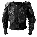 Protektorenjacke XL Brustpanzer Rückenprotektor (Größe XL) Schutzausrüstung für Fahrrad Bike...